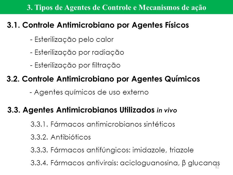 3. Tipos de Agentes de Controle e Mecanismos de ação
