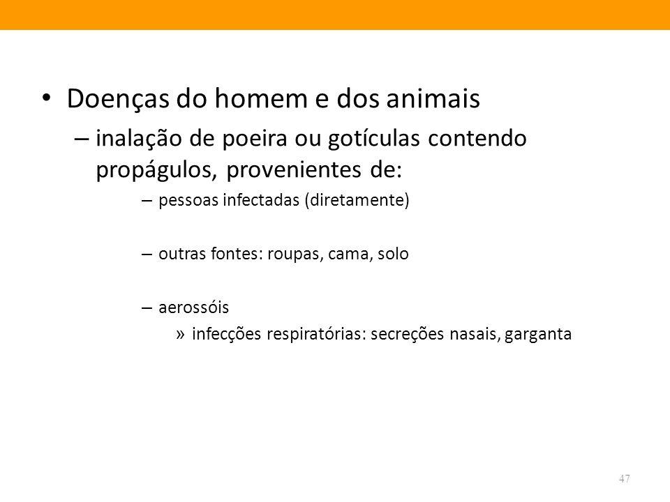 Doenças do homem e dos animais