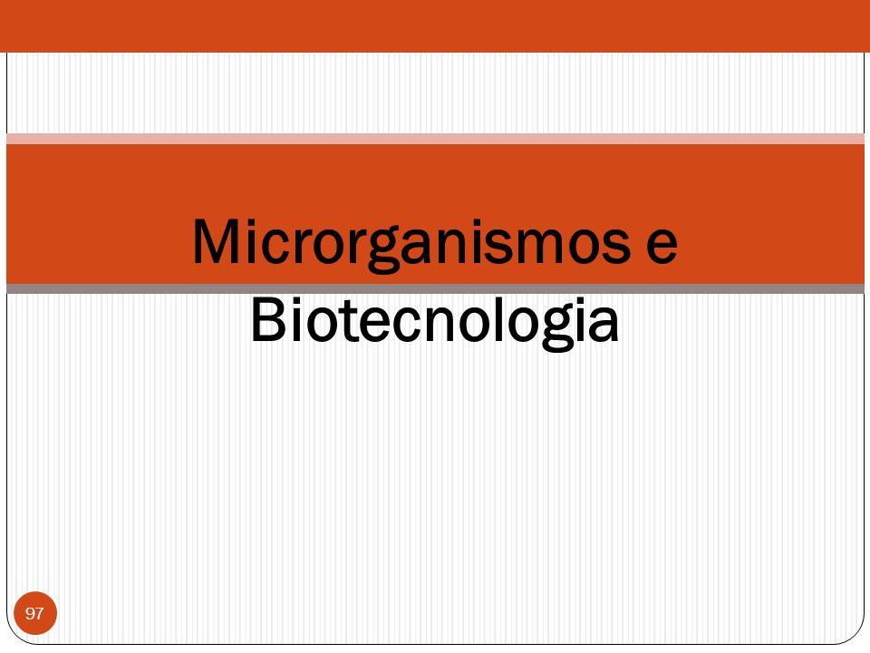 Microrganismos e Biotecnologia