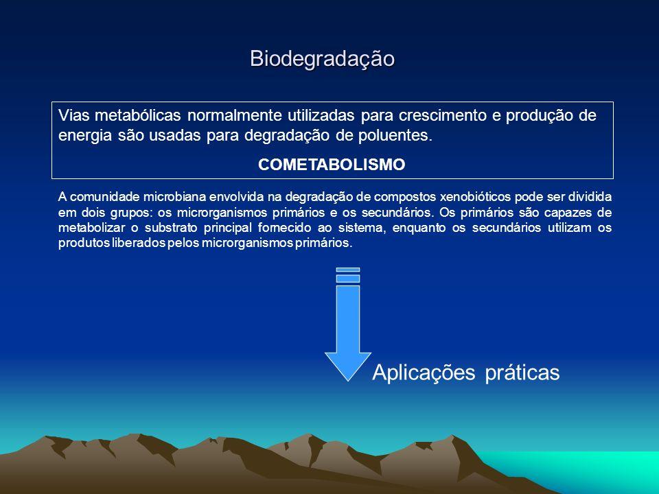 Biodegradação Aplicações práticas