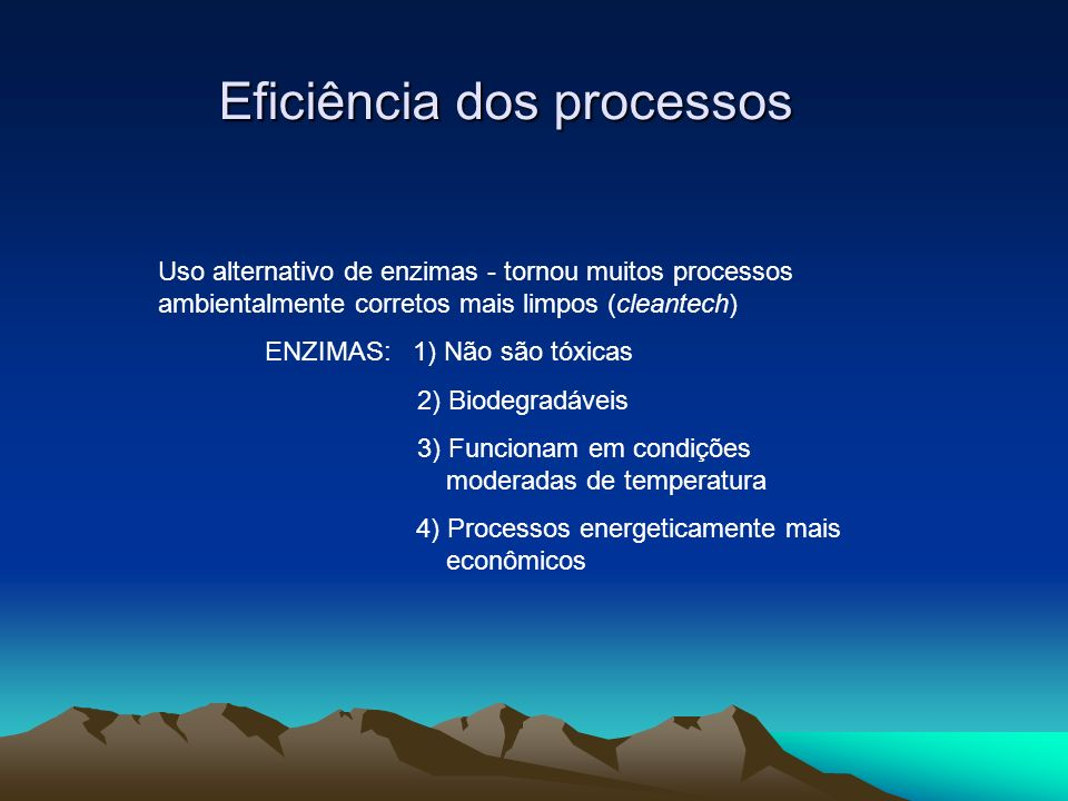Eficiência dos processos