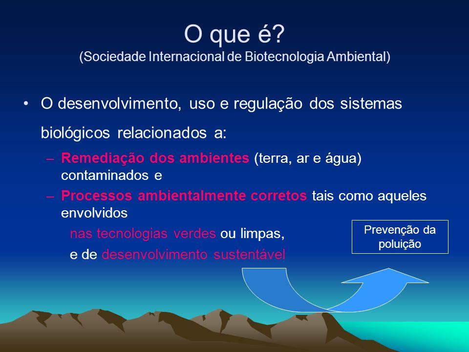 O que é (Sociedade Internacional de Biotecnologia Ambiental)