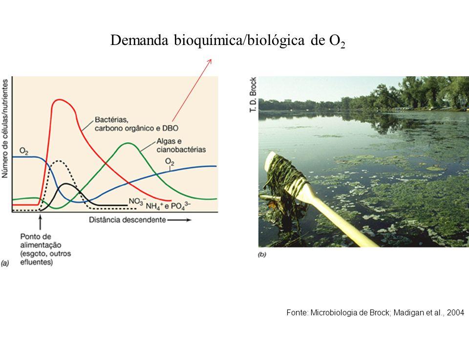 Demanda bioquímica/biológica de O2