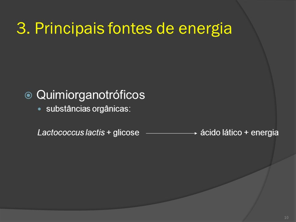 3. Principais fontes de energia