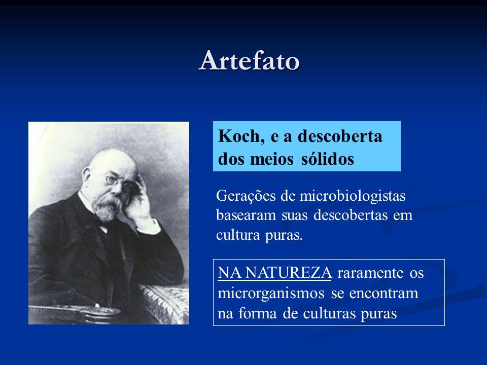 Artefato Koch, e a descoberta dos meios sólidos