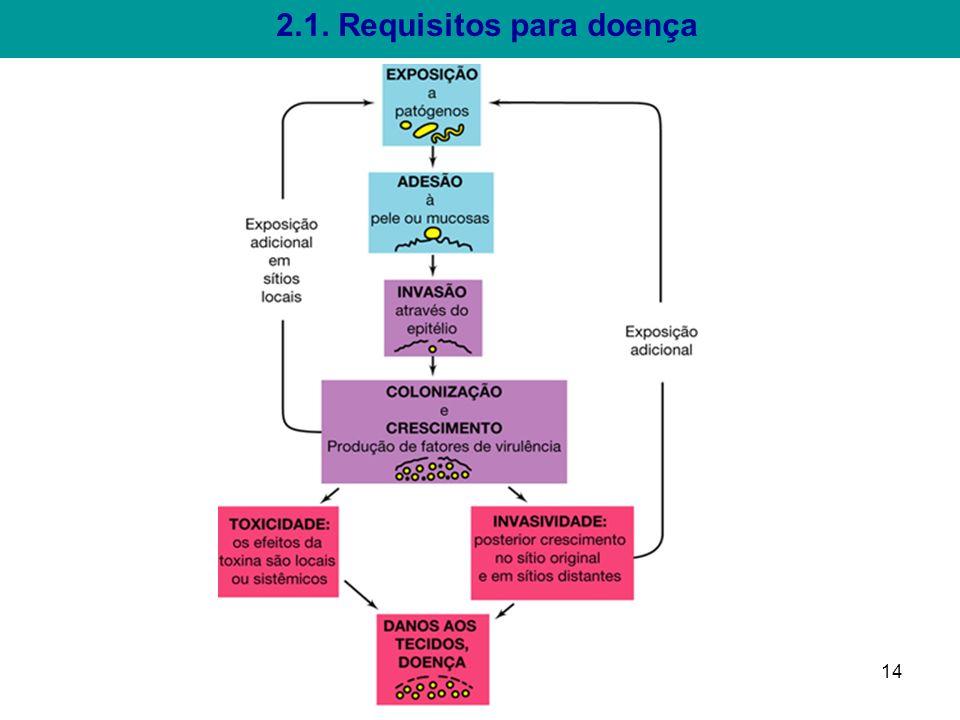 2.1. Requisitos para doença