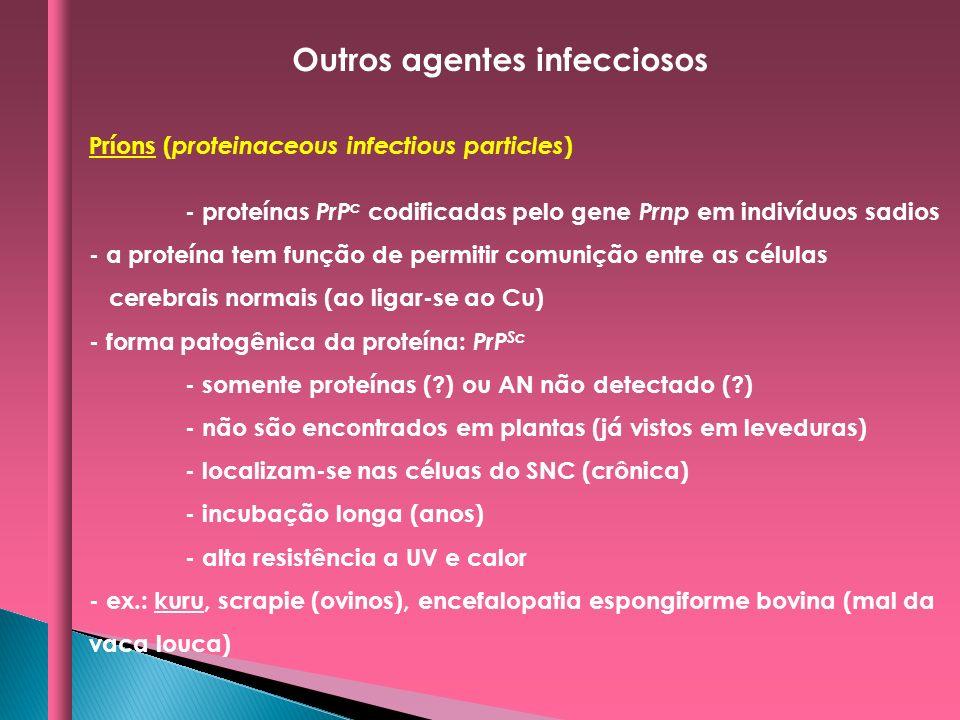 Outros agentes infecciosos