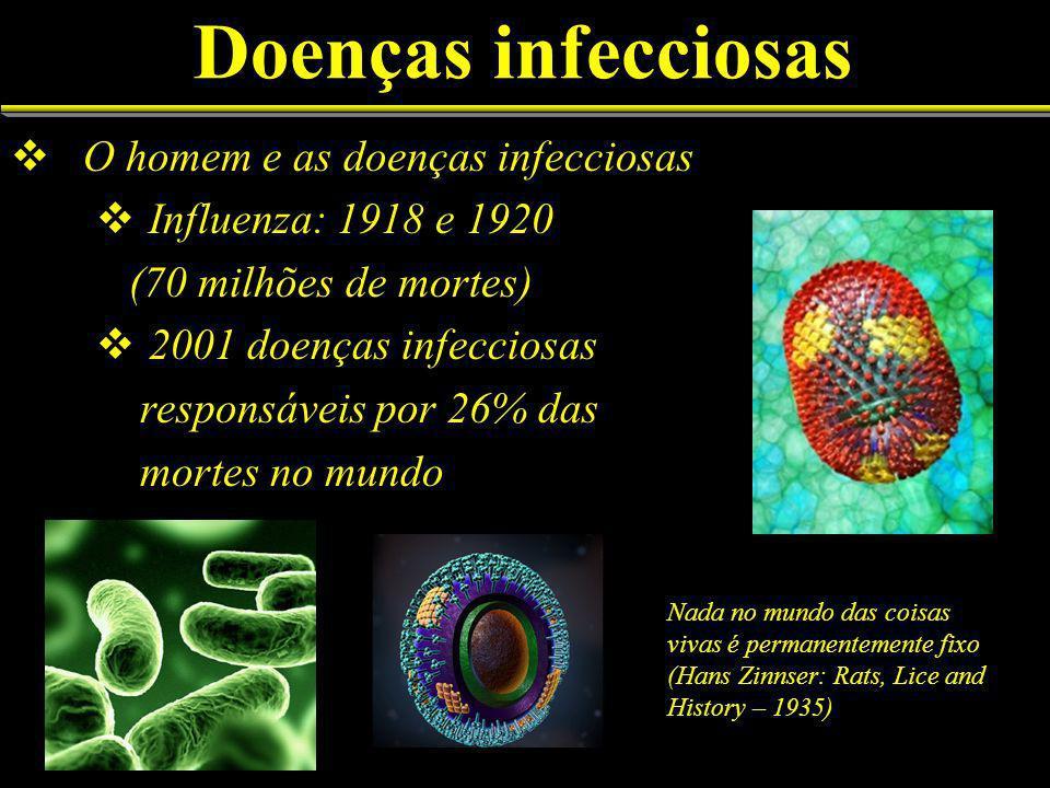 Doenças infecciosas O homem e as doenças infecciosas