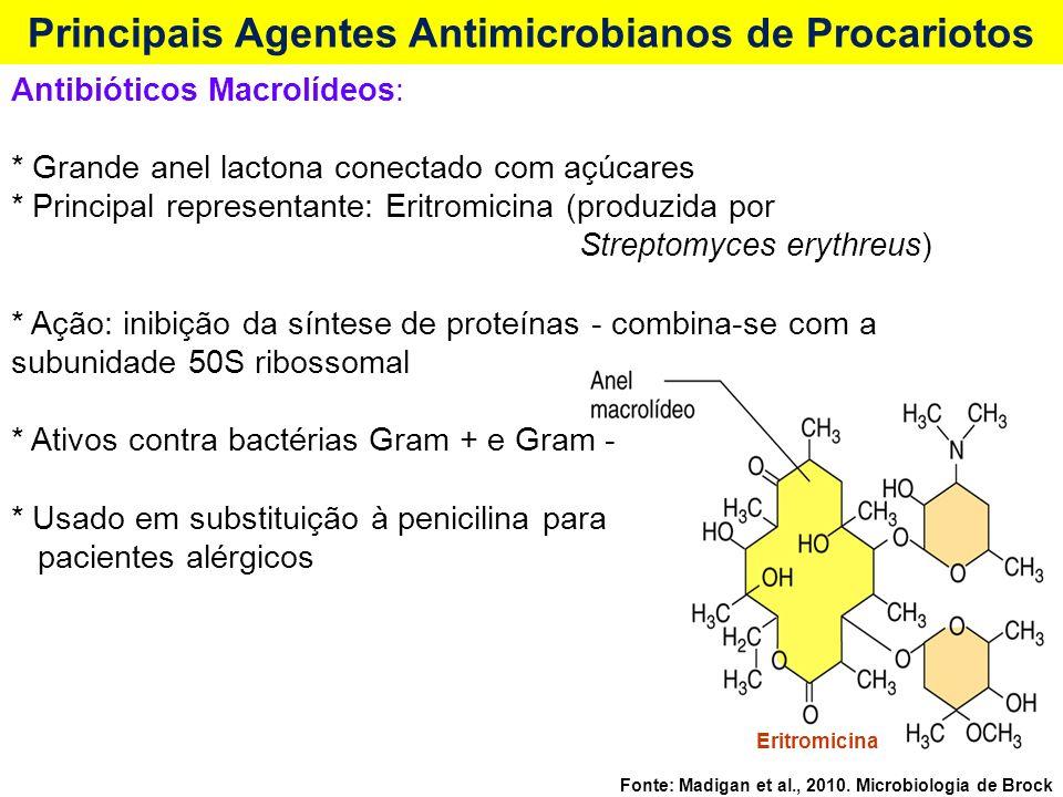 Principais Agentes Antimicrobianos de Procariotos