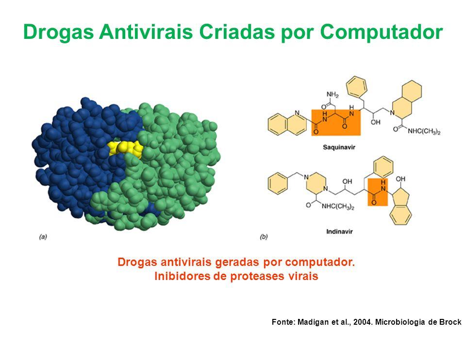 Drogas Antivirais Criadas por Computador