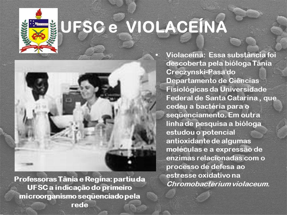 UFSC e VIOLACEÍNA