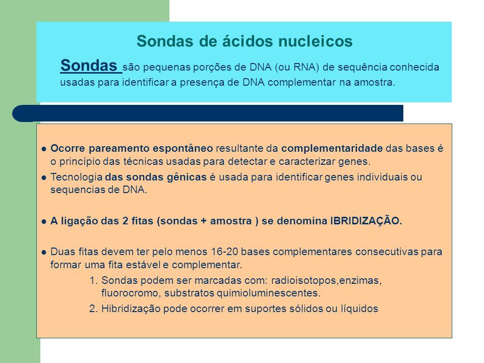 Sondas de ácidos nucleicos