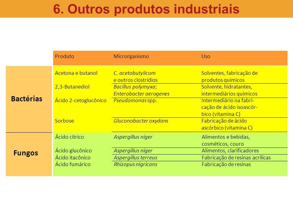 6. Outros produtos industriais