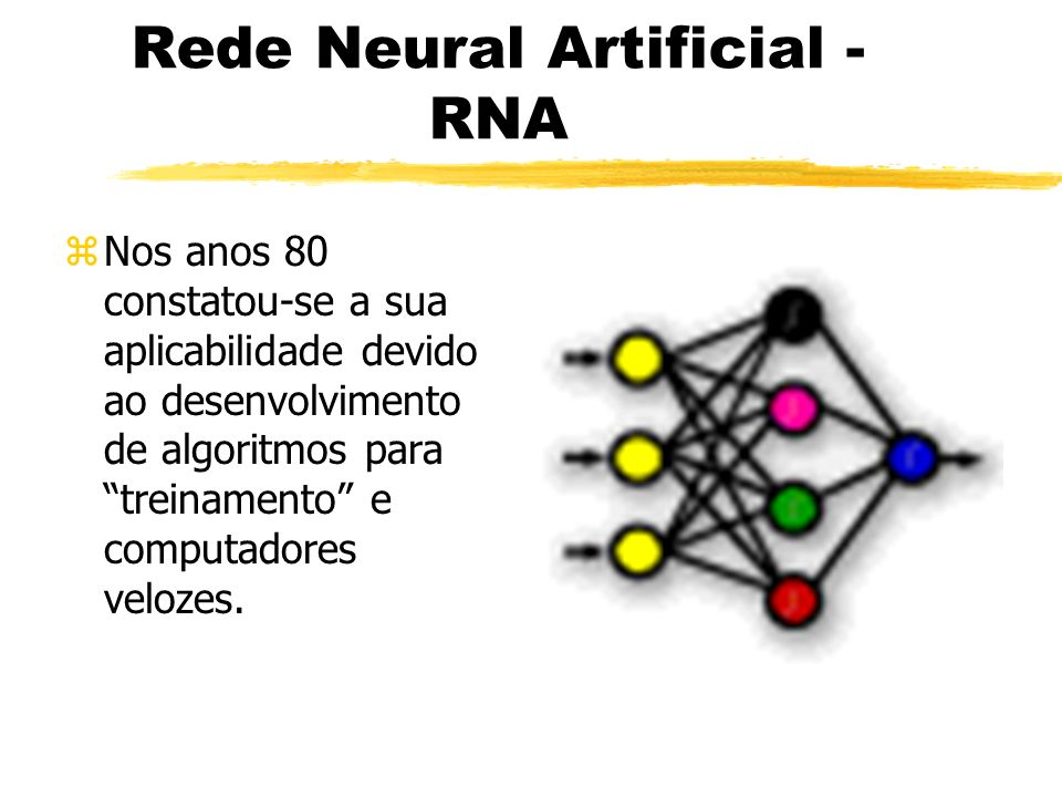 Rede Neural Artificial - RNA