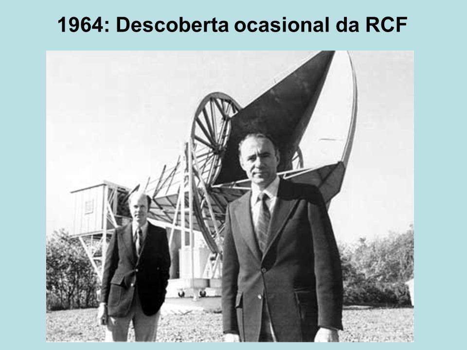 1964: Descoberta ocasional da RCF