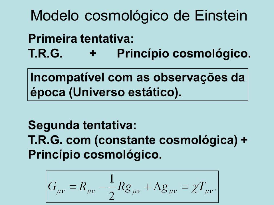 Modelo cosmológico de Einstein
