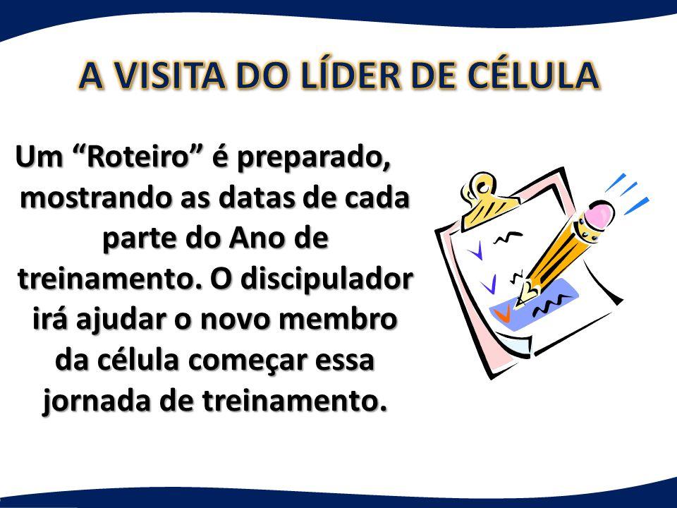 A VISITA DO LÍDER DE CÉLULA