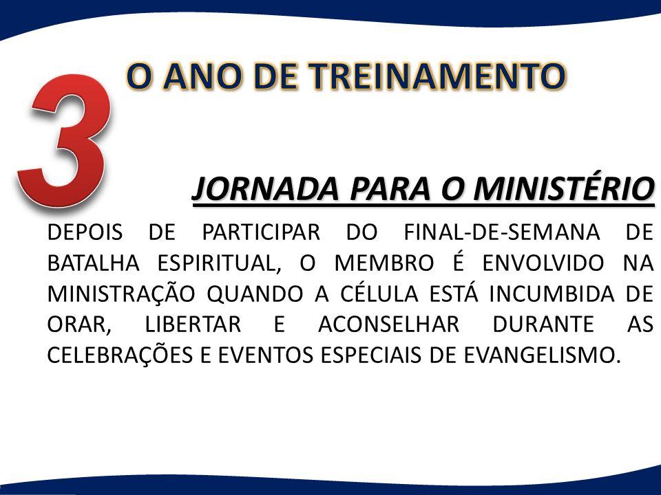 3 O ANO DE TREINAMENTO JORNADA PARA O MINISTÉRIO