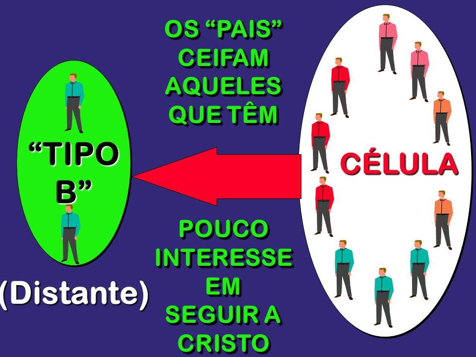 TIPO B (Distante) CÉLULA OS PAIS CEIFAM AQUELES QUE TÊM POUCO