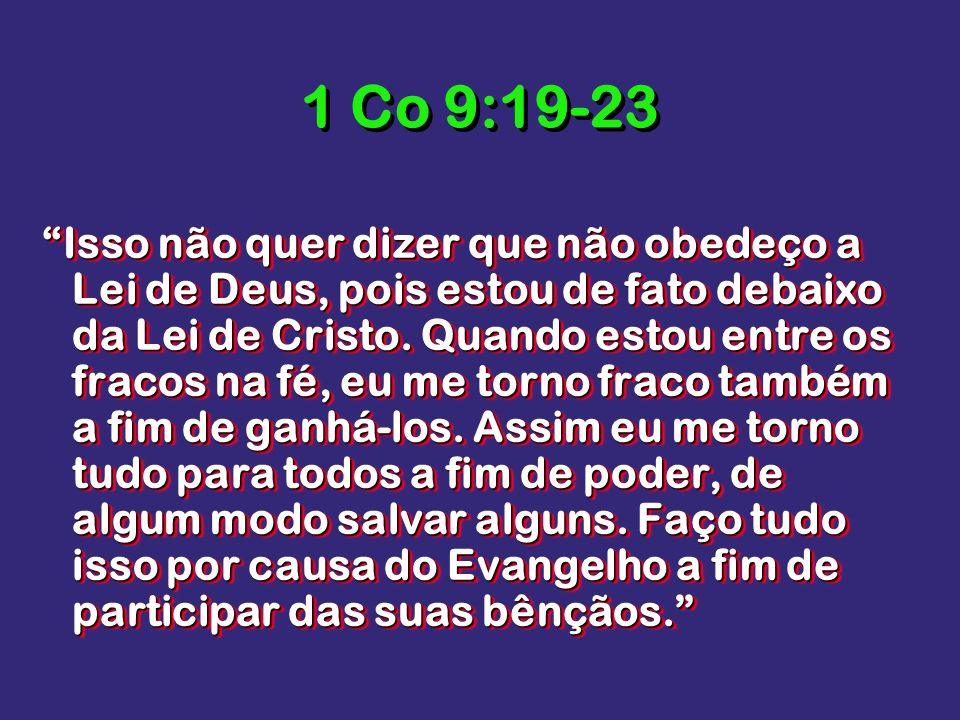 1 Co 9:19-23