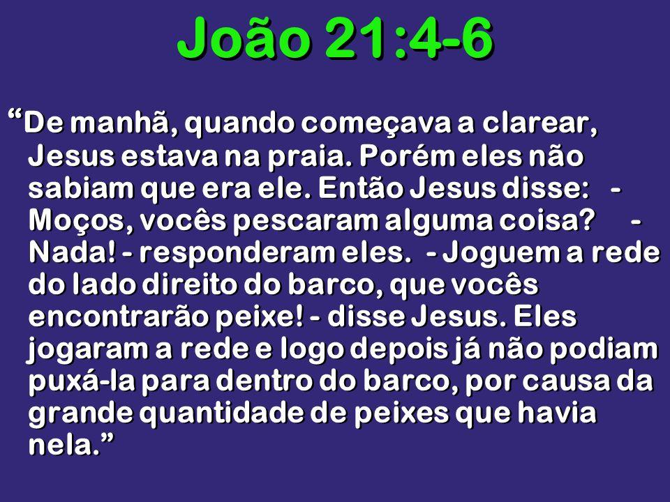 João 21:4-6