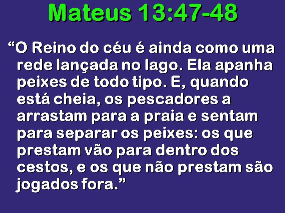 Mateus 13:47-48