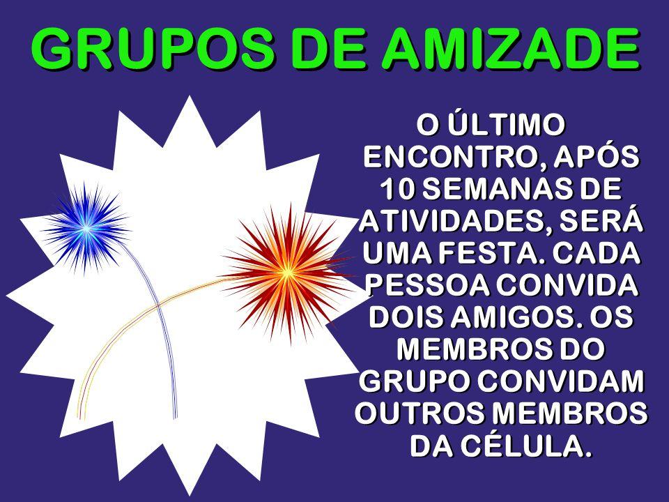 GRUPOS DE AMIZADE