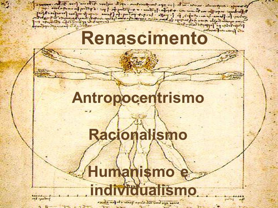 Humanismo e individualismo
