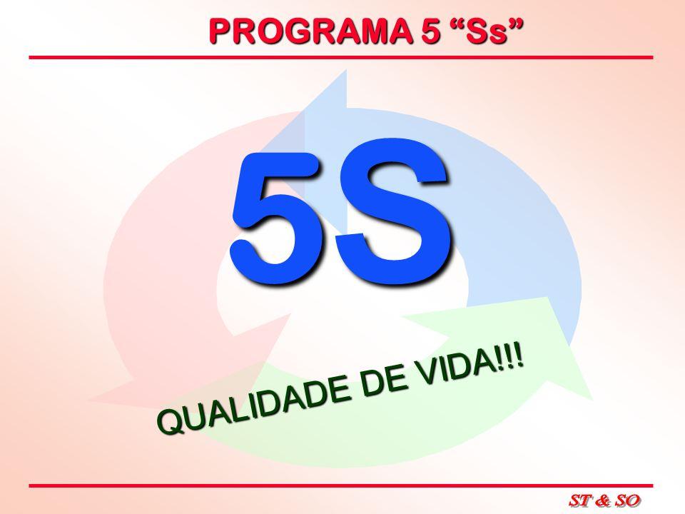 5S QUALIDADE DE VIDA!!!