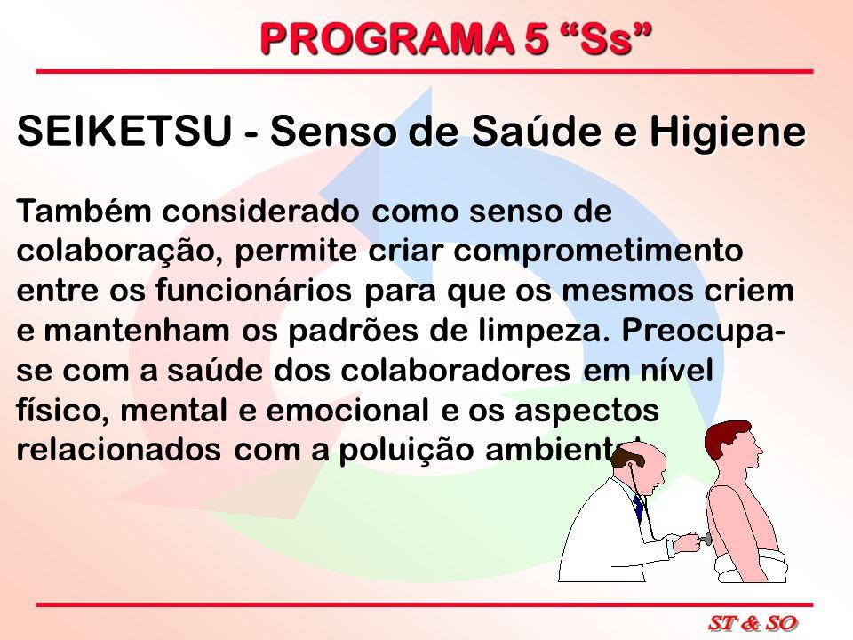 SEIKETSU - Senso de Saúde e Higiene