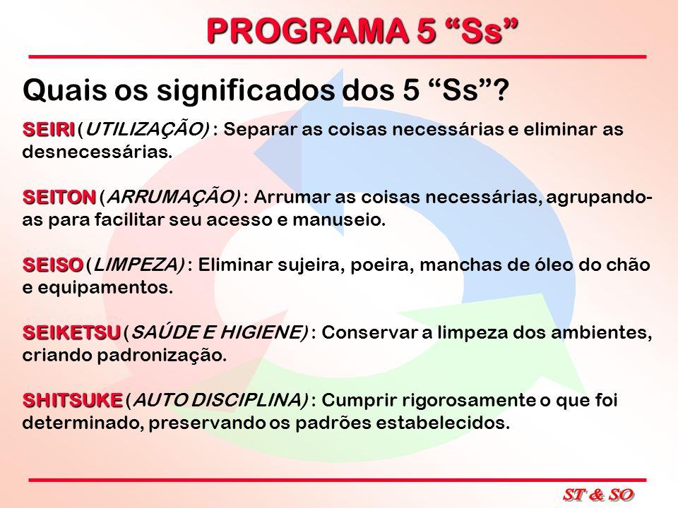 Quais os significados dos 5 Ss