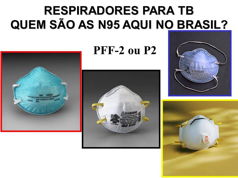 QUEM SÃO AS N95 AQUI NO BRASIL