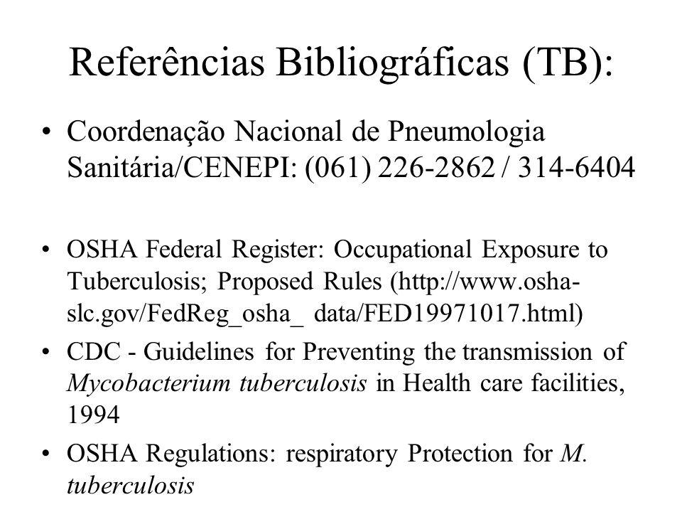 Referências Bibliográficas (TB):