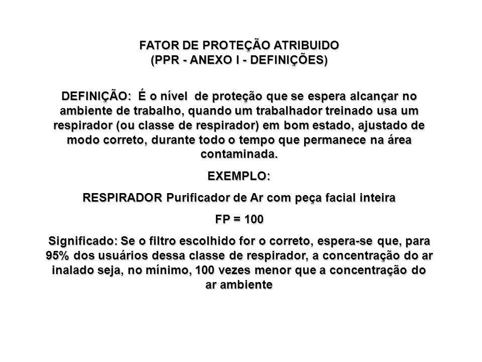 FATOR DE PROTEÇÃO ATRIBUIDO (PPR - ANEXO I - DEFINIÇÕES)