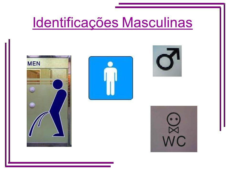 Identificações Masculinas