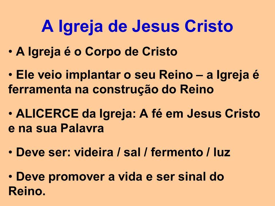 A Igreja de Jesus Cristo