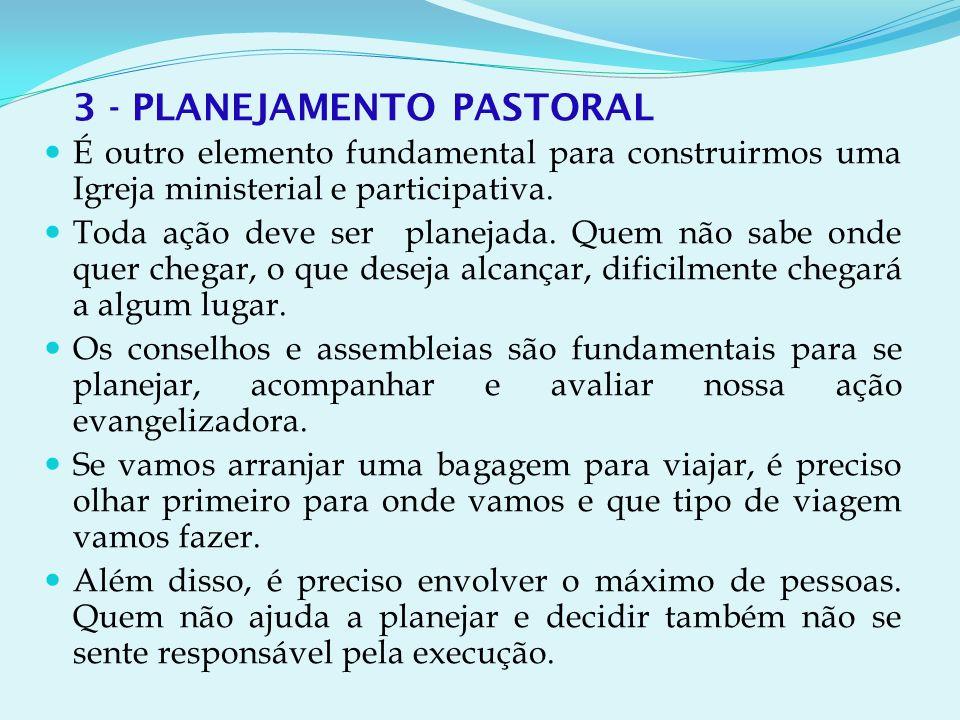 3 - PLANEJAMENTO PASTORAL