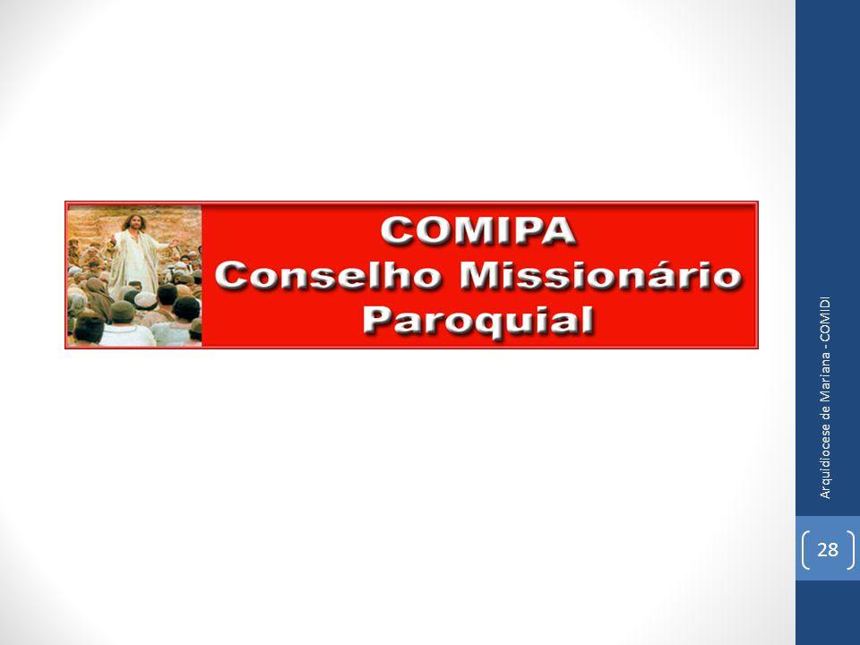 Arquidiocese de Mariana - COMIDI