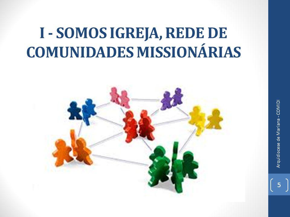 I - SOMOS IGREJA, REDE DE COMUNIDADES MISSIONÁRIAS