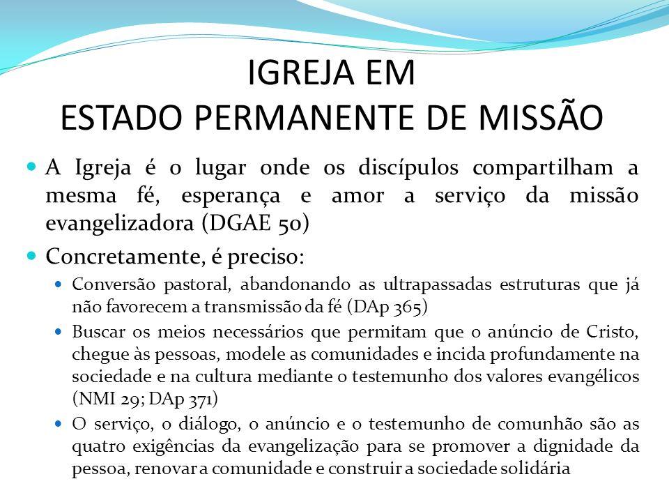 ESTADO PERMANENTE DE MISSÃO