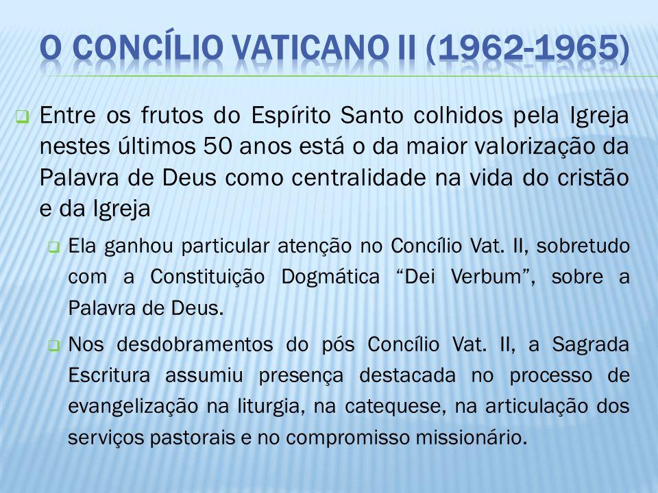 O Concílio Vaticano II (1962-1965)
