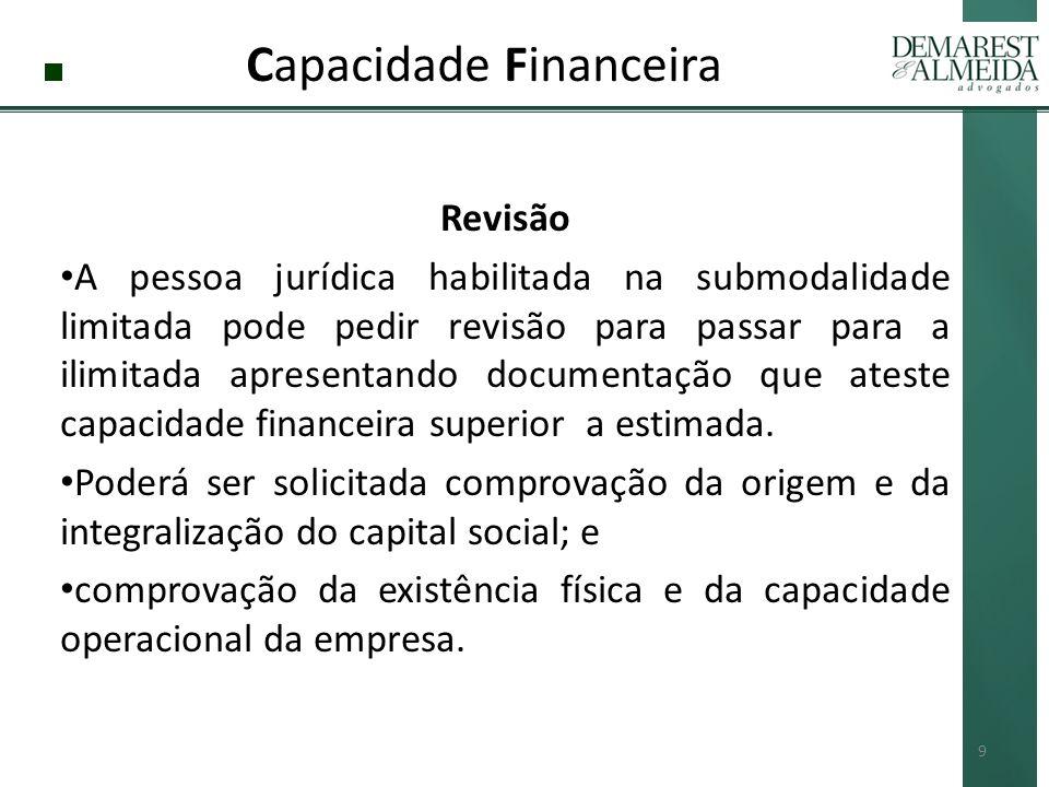 Capacidade Financeira