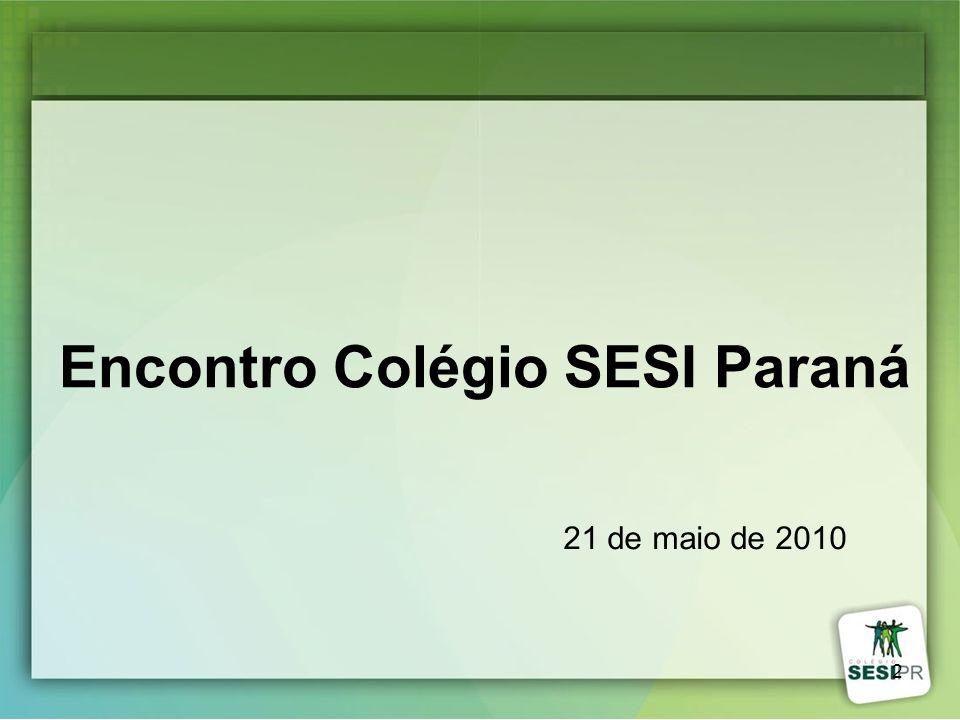 Encontro Colégio SESI Paraná