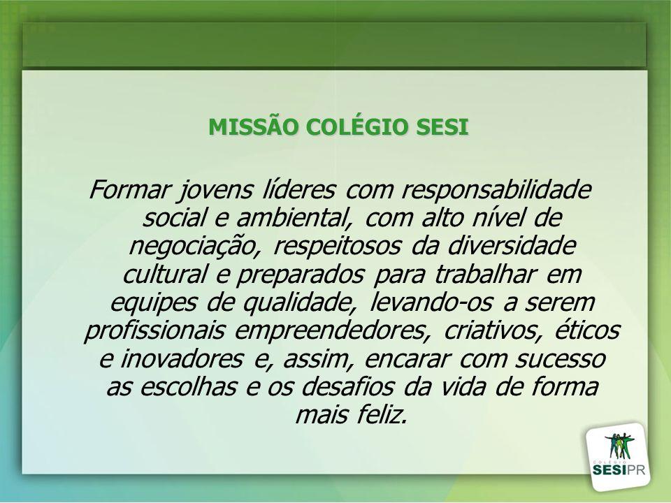 MISSÃO COLÉGIO SESI