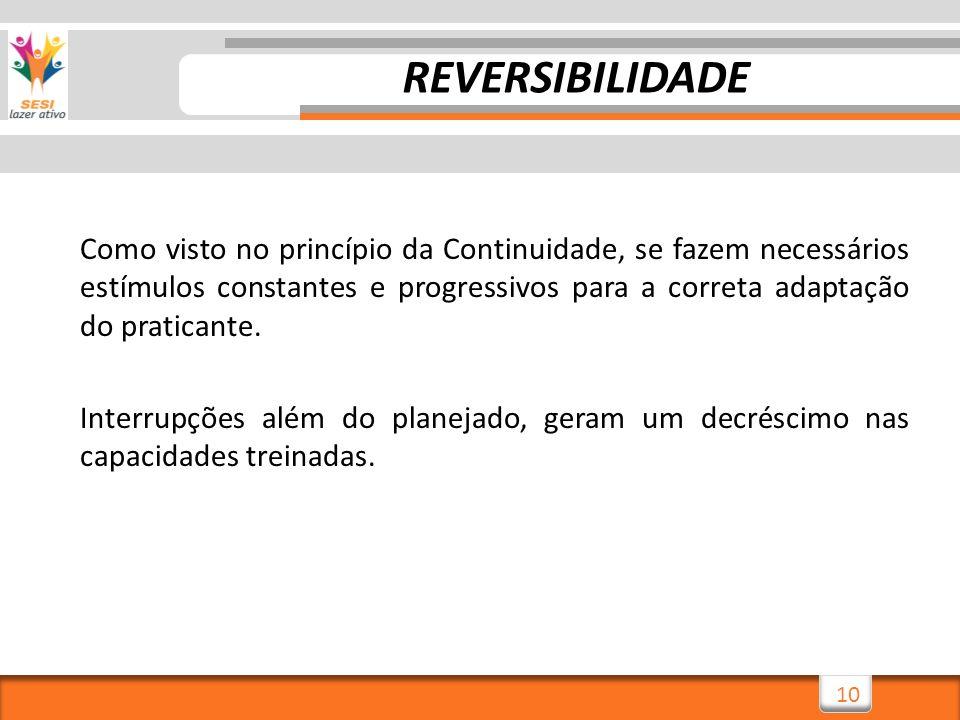 REVERSIBILIDADE
