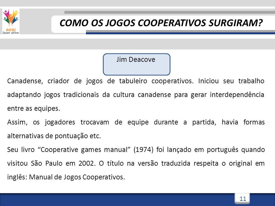 COMO OS JOGOS COOPERATIVOS SURGIRAM