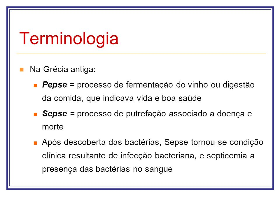 Terminologia Na Grécia antiga: