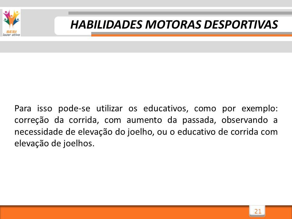HABILIDADES MOTORAS DESPORTIVAS