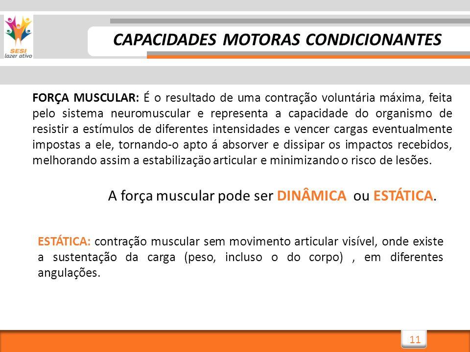 CAPACIDADES MOTORAS CONDICIONANTES
