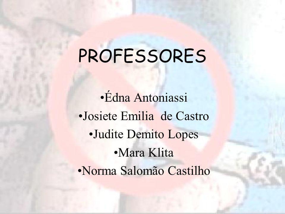 PROFESSORES Édna Antoniassi Josiete Emilia de Castro